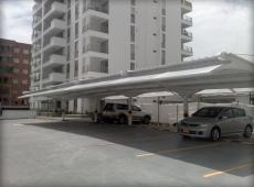 Vista Lateral - Estructura Parqueaderos