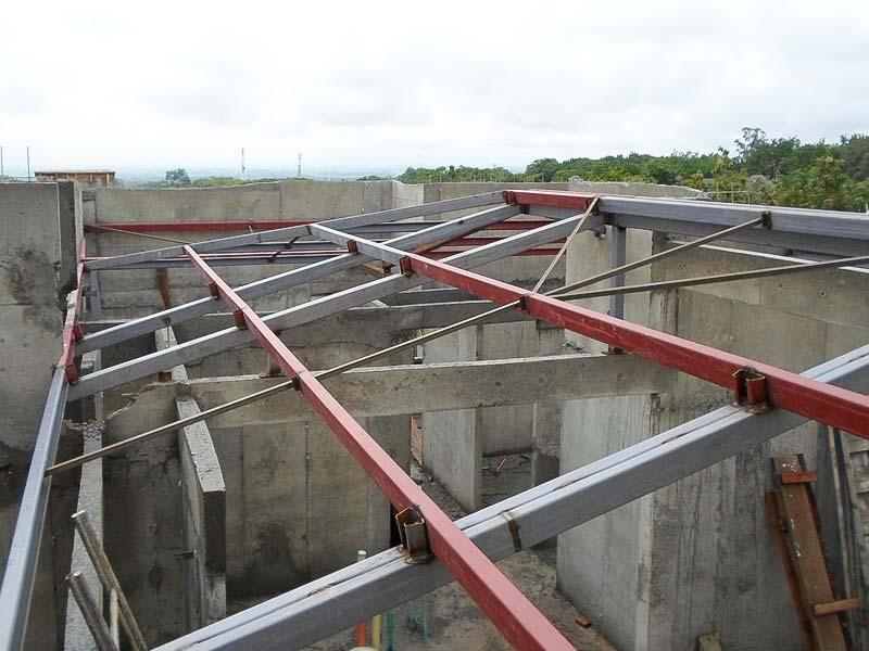 Estructuras met licas industrias metalicas paz cali - Estructuras de acero para casas ...
