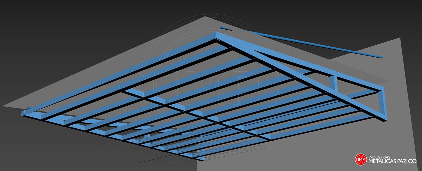 modelado-diseño-3d-estructuras-metalicas-cali-colombia